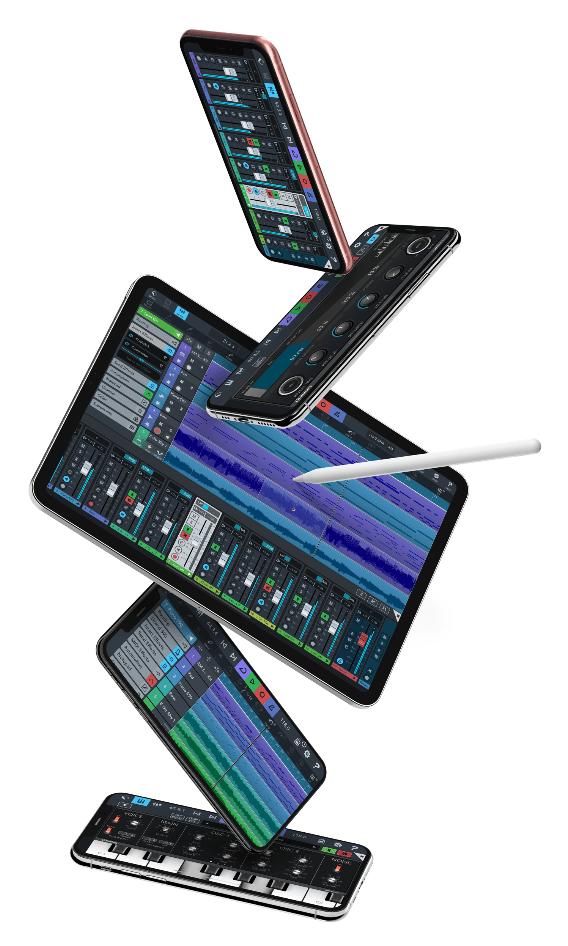 iPhones y iPads con Cubasis 3