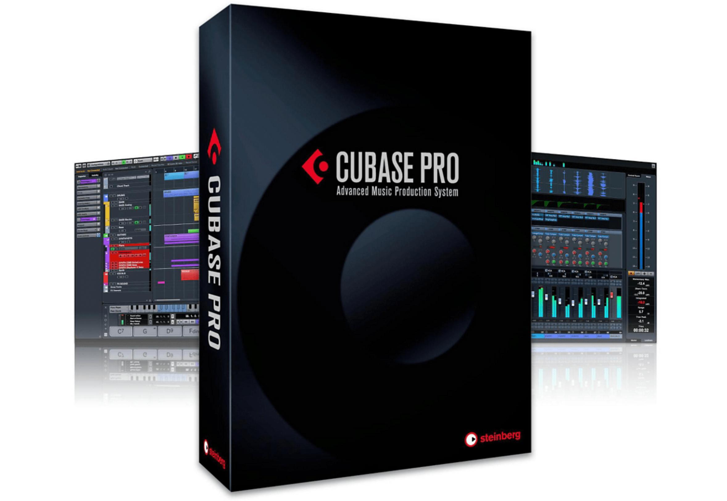 Cubase Pro 8.5 en caja
