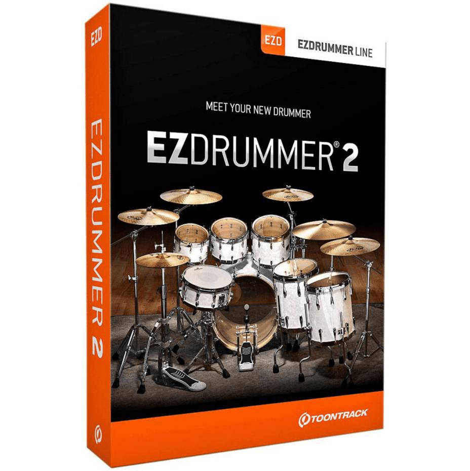 EZDrummer 2 de Toontrack en caja