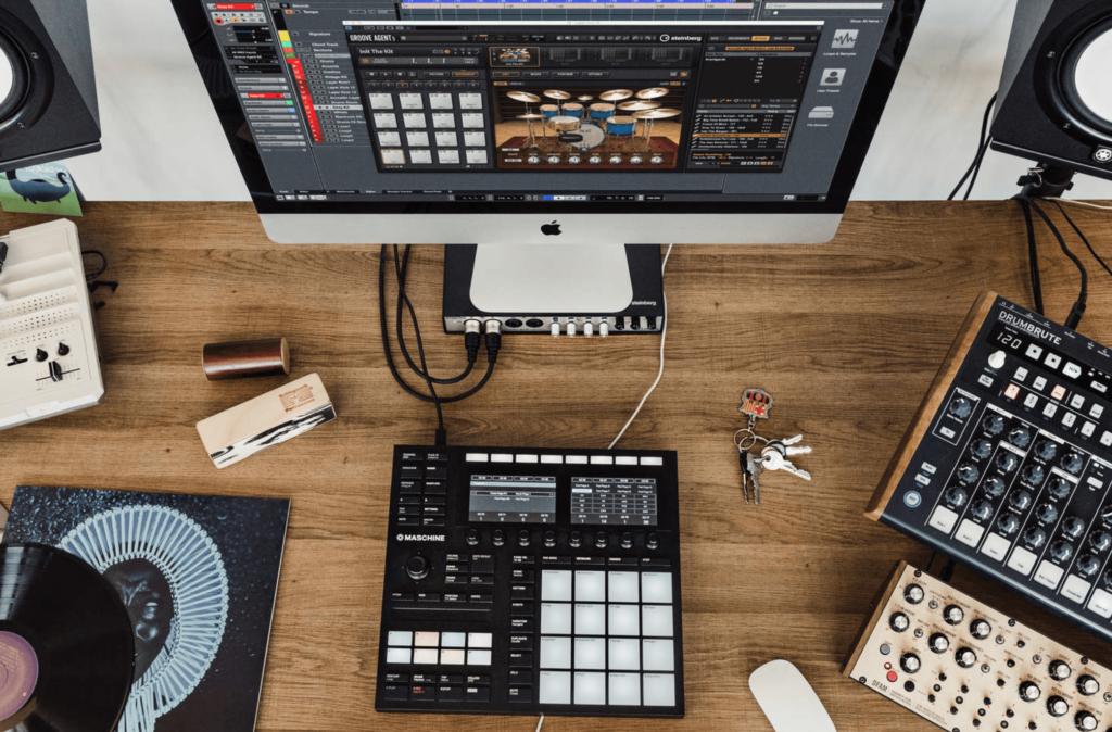Plugin Groove Agent de Steinberg en Mac de escritorio