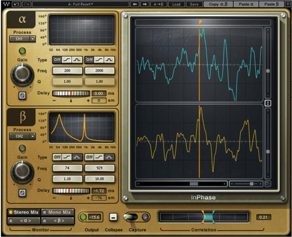Plugin VST Waves In-Phase