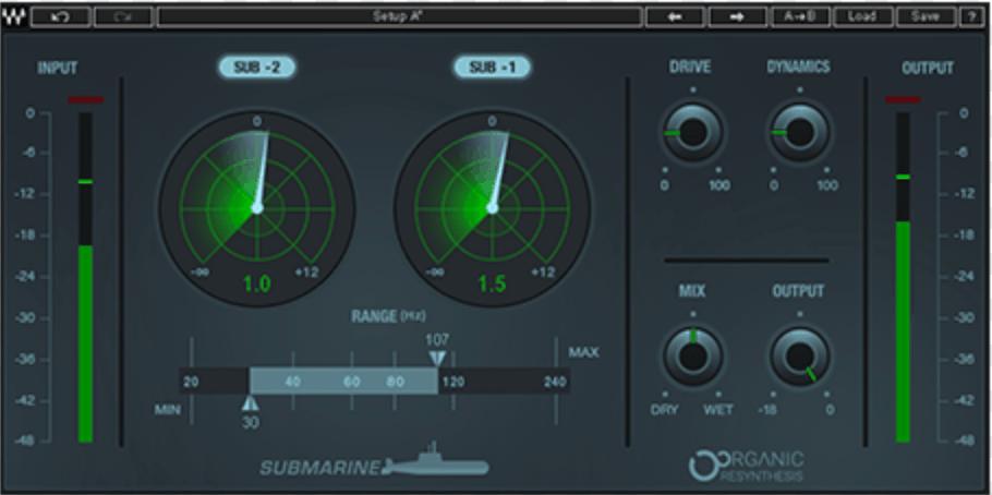 Plugin VST Waves Submarine